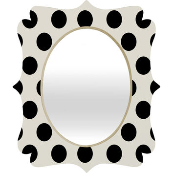 Allyson Johnson Classiest Cream Quatrefoil Mirror