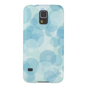 Blue Bubbles Cases For Galaxy S5