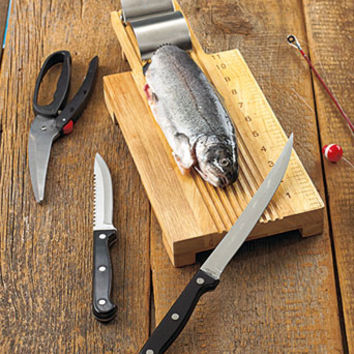 4-Pc. Fisherman's Fillet Station