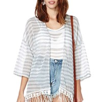 Lines in the Sand Cardigan