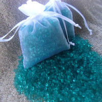 Aroma Bead Sachet, Scented Sachet, Orange Beads, Air Fresheners, Party Favors, Caribbean,  OOT Gift Bags, Made to Order