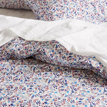 Liberty for Anthropologie Bonnie Bloom Duvet