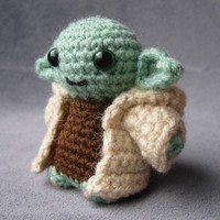 PDF of Yoda - Star Wars Mini Amigurumi Pattern