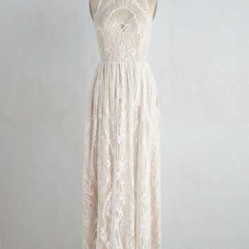 Ethereal Love Dress in White | Mod Retro Vintage Dresses | ModCloth.com