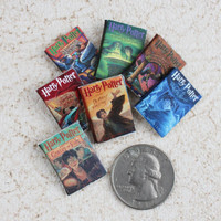 Harry Potter Miniature Book Set for Dollhouse
