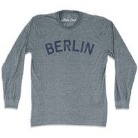 Berlin City Vintage Long Sleeve T-Shirt
