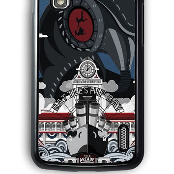 Google Nexus 4 Case - Hard (PC) Cover with Bioshock Infinite Poster Plastic Case Design