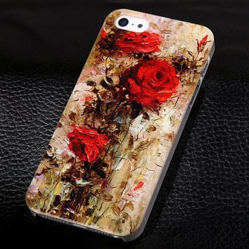 Phone Cover for Apple iPhone5 5s Luxury Painted Case For iphone 5 5s Hard Cell Phone Case for iPhone 5s 5g