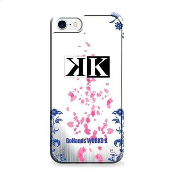 K Project logo floral wht bkg iPhone 6 | iPhone 6S case