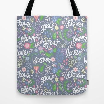How Does Your Garden Grow Tote Bag by Noonday Design | Society6