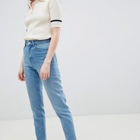 Waven Elsa Mom Jeans at asos.com