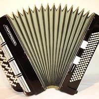 5 Row Weltmeister 120 Bass Button Chromatic Accordion. Concert German Bayan 186
