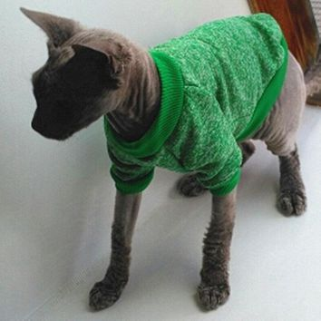 Warm Cat Soft Sweater Hoodie - Various Colors & Sizes