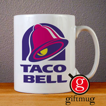 Taco Bell Logo Ceramic Coffee Mugs