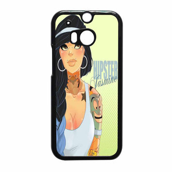Hipster Jasmine Disney Princess HTC One M8 Case