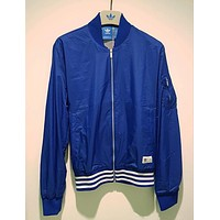 Adidas Fashion Women and Men Bomber Jacket