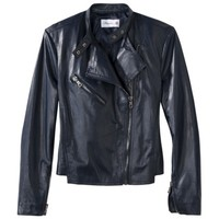 3.1 Phillip Lim for Target® Leather Jacket -Navy