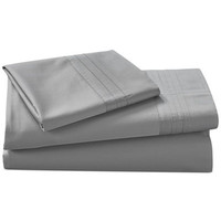 Donna Karan Home Silver Queen Fitted Sheet - Sheets - Bed & Bath - Macy's