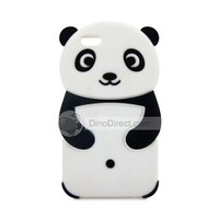 HM Comfortable Silicone Panda Style Protective Case Cover for iPhone 6 Plus - DinoDirect.com