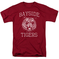 SAVED BY THE BELL/GO TIGERS-S/S ADULT 18/1-CARDINAL