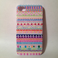 Handmade Tribal Aztec iPhone 4/4s/5/5s Case