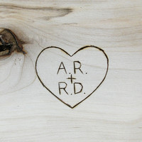 Custom Engraving - woodburning or stamping on your B&B Purchase