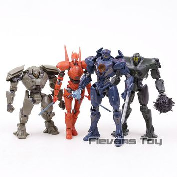 Pacific Rim Uprising Gipsy Avenger Titan Redeemer Bracer Phoenix Action Figure Collection Model Brinquedos Figurals 4 Types