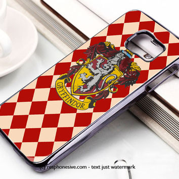 Hoghwart School - Griffindor Samsung Galaxy S6 and S6 Edge Case