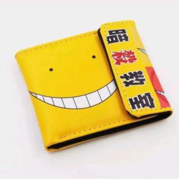 New Japan Anime Assassination Classroom Wallet