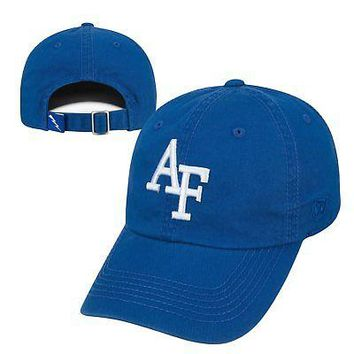 Licensed Air Force Falcons Official NCAA Adjustable Youth Crew Hat Cap Top of the World KO_19_1
