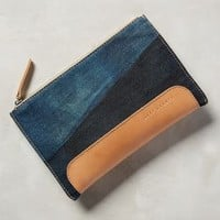 Andie Pouch by Graf & Lantz Light Denim One Size Clutches
