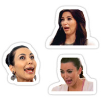 Kim Kardashian | Sticker Set by waverlie