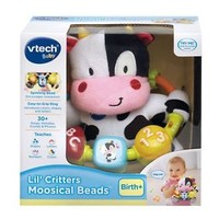 VTech Baby Lil Critters Moosical Bead Learning Toy, Educational Toy, Babies Gift