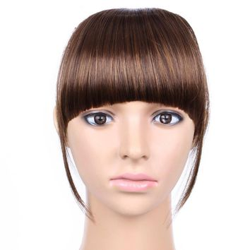 False Bangs Hairpiece