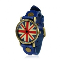 Vintage Union Jack Watch by deniserose on Zibbet