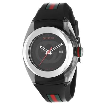 Ladies' Gucci Medium Gucci Sync Black Watch - Online Exclusive