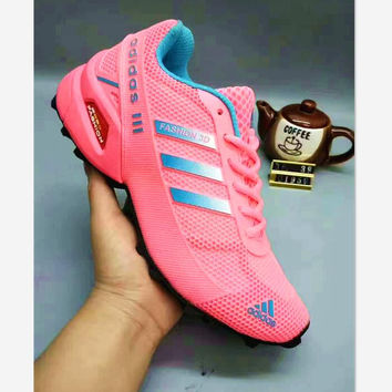 """ADIDAS"" Women Trending Fashion Casual Sports Shoes Pink G-A50-XYZ"