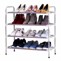 Adjustable 4 Floor Shoe Rack Shoe Tower Shelving Storage Organizer for Entryway Closet Living Room Bedroom 5 Floor 6 Floor