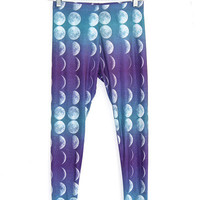 Crescent Moon Leggings | fresh-tops.com