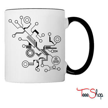 Circuit HD VECTOR Coffee & Tea Mug