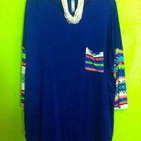 Royals tribal tunic from PeaceLove&Jewels