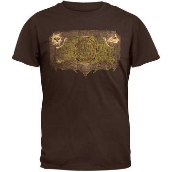 Otep - Ouija Board Brown T-Shirt
