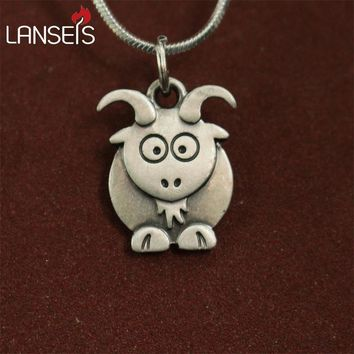 Cute goat Necklace pendants for women necklace Animal jewelry