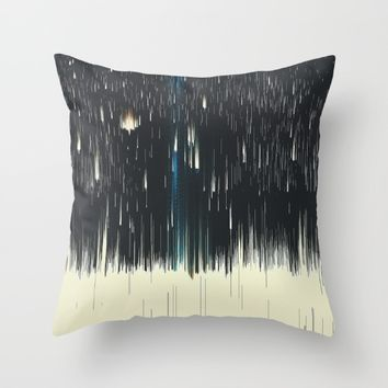 warpspeed Throw Pillow by DuckyB