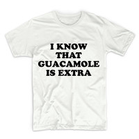 I Know That Guacamole Is Different Unisex Graphic Tshirt, Adult Tshirt, Graphic Tshirt For Men & Women