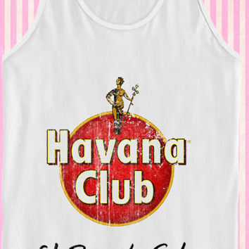Havana Club Vintage logo Retro for Tank Top Mens and Tank Top Girls