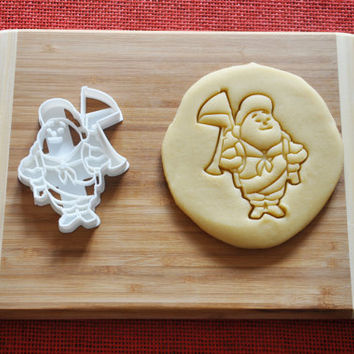 UP Boy Cookie Cutter Disney Cartoon Biscuit Stamp Cake Topper Fondant Gingerbread cutter Baby Shower Gift