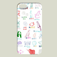 Animal Alphabet iPhone case by HannaMelin on BoomBoomPrints