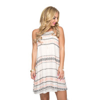 Strides To Perfection Embroider Dress