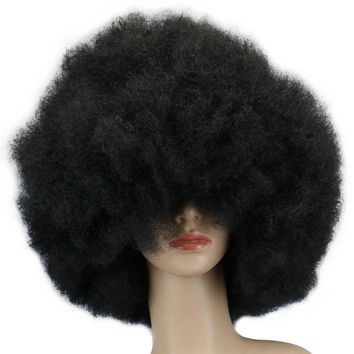 Synthetic Cosplay Afro Wig